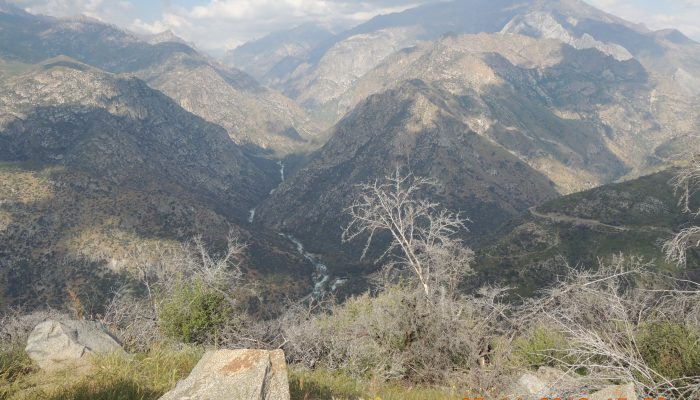 A day in Kings Canyon, May 2018